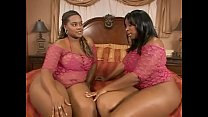 two black chubby milfs enjoy big black cock