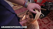Watch ARABSEXPOSED - Arab Hooker In Hijab_Desperate For Cash, Let's Me Fuck Her preview