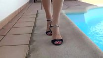 feet fetish and cum play