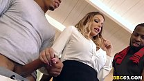 Brooklyn Chase Interracial Group Sex Thumbnail