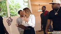Brooklyn Chase Interracial Group Sex Thumbnail