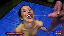 Super hot Latina babe Francys belle gets in the...