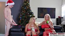 Watch Alura Jenson and Karen Fisher Christmas special preview