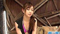 Hot japan girl Yuuka Kokoro in perfect anal scene