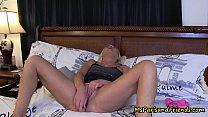 She Masturbates For Her Brother Then He Fucks H...