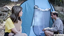 Camping gone wrong for a rich guy and his cheating girlfriend Thumbnail