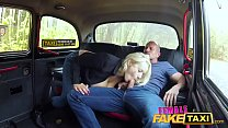 Female Fake Taxi Internal cumshot for big tits driver Thumbnail