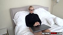 Big booty milf stepmom fucking her step son