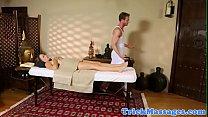 Beautiful massage babe gets banged صورة