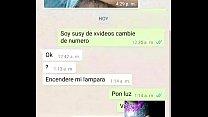 videollamada whats 2  le muestro ami primo como...