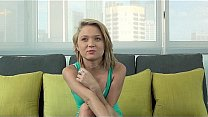 Casting Couch-X Cute Florida blonde models nude's Thumb