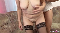73yr old Grandma touch and Fuck by Young Boy Ne...