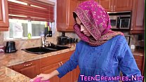 Sexy Teen with big tits gets banged and creampi...