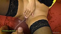 Kira Queen MILF with GIANT BOOBS gets a CREAMPI...