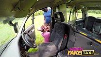 Female Fake Taxi Busty Milf Brooke Jameson fucked hard in cab Thumbnail