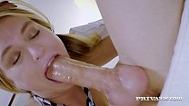 Private.com - Blonde Horny Student, Natalia Starr, gags, throat fucks & rides her teacher's big hard cock until she gets a straight A Facial! See the full flick at Private.com!'s Thumb