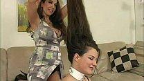 Lesbian hair play 7