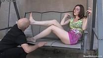 Watch Foot fetish - Mistress Megan Star preview