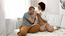 Hot teen sex ends with huge creampie! - Must see creampie Thumbnail