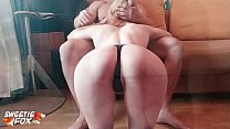 Redhead Babe Suck Dick and Rough Sex at Home af...