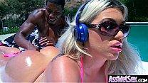 Deep Anal Sex With Oiled Big Curvy Butt Girl (Assh Lee) vid-02 صورة