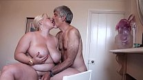Hard rough sex with mature lady and horny man