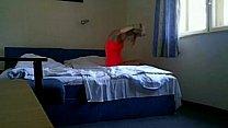 sexy blonde escort girl fucking in hotel hidden cam Thumbnail