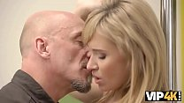 VIP4K. Hot old and young sex starts with just a...