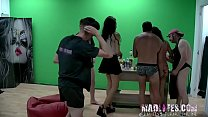 Brunette Paulova gets shafted by every one of t...