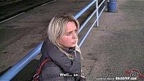 Bitch STOP - Blonde Czech MILF fucked in car's Thumb