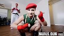 Mofos_-_I_Know_That_Girl_-_Video_Game_Cosplay_Fuck_starring__AJ_Applegate_and_Chad_Alva Thumbnail