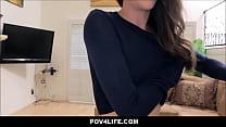 Cute Brunette Homeless Skinny Girl Small Tits F...