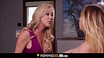 Young Hot Blonde Step Daughter Carter Cruise Shares Orgasm With Big Tits Step Mom Brandi Love's Thumb