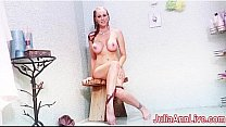 Busty Horny Naughty Julia Ann In A Shower! Thumbnail