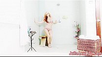 Watch Busty Horny Naughty Julia Ann In A Shower! preview