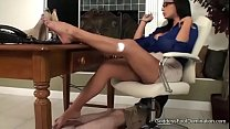 White wife Hubby watching cock wife first big b...