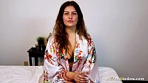 Massage and sex for shy young woman