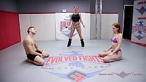Nude wrestling fuck_with Maya Kendrick screwed hard by Nathan Bronson at Evolved Fights Thumbnail