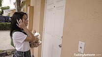 Scout Girl Megan Rain Gets Her Ass Fucked's Thumb