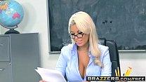 Brazzers - Big Tits at School - Highbrow Pussy scene starring Bridgette B and Bill Bailey's Thumb