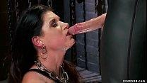 Stunning brunette MILF slave trainee India Summ...