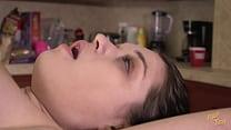 Cute Girl Ass and Pussy Massage Bondage BDSM