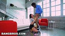BANGBROS - August Ames Takes A Big Black Dick Like A Pro صورة