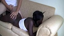 Black whore gets fuck hard by a white guy صورة