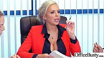 (Nina Elle) Girl With Round Big Tits In Hard Style Sex In Office clip-21's Thumb