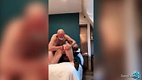 Masked Guy Hard Anal Fisting Horny Blonde, Fing...