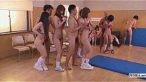 Subtitled uncensored Japanese nudist school club orgy Thumbnail