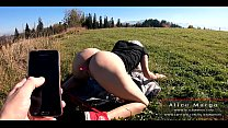 Beuaty Teen Girl and Lovense Toy in Pussy! Publ...