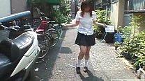 Japanese schoolgirl marbles insertion for jump ...