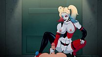 animated Harley Quinn gets crazy for dick Thumbnail